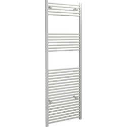 Kudox Kudox White Flat Ladder Towel Radiator 1800 x 600mm 2969Btu - 63095 - from Toolstation