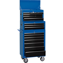 "Draper Draper Combination Roller Cabinet and Tool Chest 26"" 16 drawer - 63162 - from Toolstation"