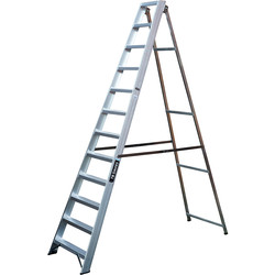 TB Davies TB Davies Industrial Swingback Step Ladder 12 Tread SWH 3.8m - 63233 - from Toolstation