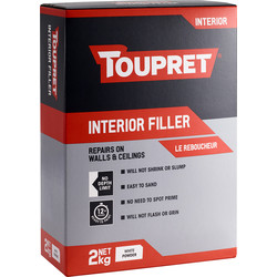Toupret Toupret Interior Filler 2kg - 63284 - from Toolstation