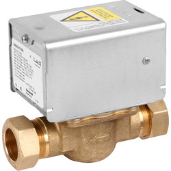 Honeywell Honeywell Home 2 Port Zone Valve 22mm - 63302 - from Toolstation