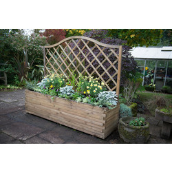 Forest Garden Venice Planter 153cm (h) x 180cm (w) x 50cm (d) - 63382 - from Toolstation