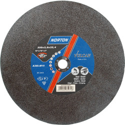Norton Metal Chop Saw Cutting Disc 350 x 3.0 x 25.4mm - 63437 - from Toolstation