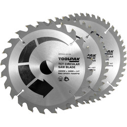 Toolpak Toolpak TCT Circular Saw Blades 200 x 30mm - 63445 - from Toolstation