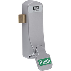 union Union J-CE854EL-SIL ExiSAFE Emergency Latch  - 63457 - from Toolstation