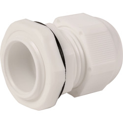 IMO Stag IMO Stag IP68 Cable Gland 25mm White - 63492 - from Toolstation