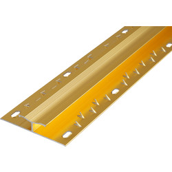 Carpet Joiner Gold - 63523 - from Toolstation