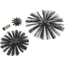 Minotaur Minotaur Chimney and Drain Brush Set 4 Piece - 63607 - from Toolstation