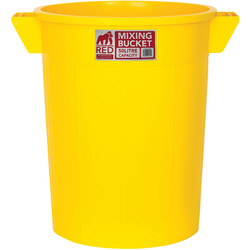 Red Gorilla Red Gorilla Mixing Tub 50L Yellow - 63608 - from Toolstation