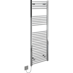 Kudox Kudox Electric Pre-Filled Chrome Flat Towel Radiator 1500 x 500mm 400W - 63620 - from Toolstation