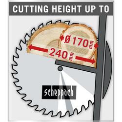Scheppach HS520 2600W 505mm Log Saw