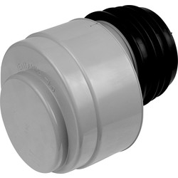 McAlpine McAlpine VP100 Air Admittance Valve Grey - 63640 - from Toolstation