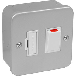 Axiom Axiom Metal Clad 13A Spur Switch & Neon - 63683 - from Toolstation