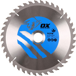 OX OX TCT Circular Saw Blade 235 x 30 x 40T - 63704 - from Toolstation