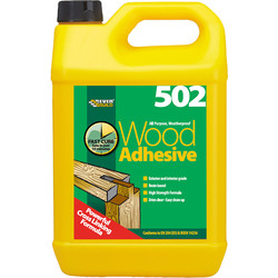 Everbuild Interior & Exterior PVA Wood Glue 5L - 63775 - from Toolstation
