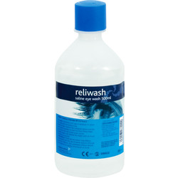Eyewash Station 500ml Refill - 63843 - from Toolstation