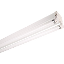 Thorn Lighting Thorn Fluorescent Batten Fitting HPF 1500mm x 2 x 58w Twin - 63881 - from Toolstation