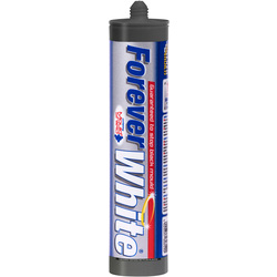 Everbuild Forever White Sanitary Sealant 310ml White - 63890 - from Toolstation
