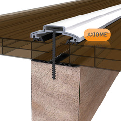 Axiome 16mm Polycarbonate Bronze Triplewall Sheet