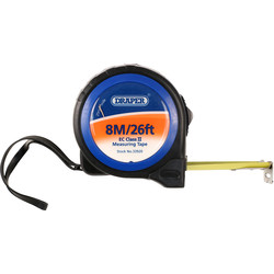 Draper Draper Tape Measure 8m - 64005 - from Toolstation