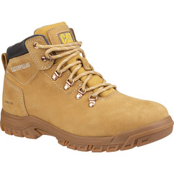 CAT Caterpillar Mae Ladies Safety Boots Honey Size 4 - 64058 - from Toolstation