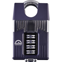 Squire Squire Warrior Combination Padlock 56 x 10 x 32mm CS - 64076 - from Toolstation