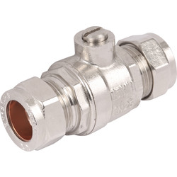 Full Bore Isolating Valve CP 22mm - 64136 - from Toolstation