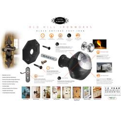 Old Hill Ironworks Bulb End Reversible Casement Fastener