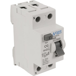Axiom Axiom RCD A Type RCD 40A 30mA - 64248 - from Toolstation