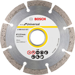 Bosch Bosch Diamond Blade 115mm - 64298 - from Toolstation