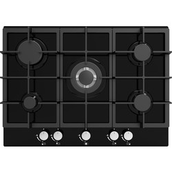 Culina Appliances Culina 5 Burner Gas Hob Black Glass - 64300 - from Toolstation