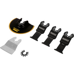 DeWalt DeWalt Multi-Tool Accessory Set 5 Piece - 64323 - from Toolstation