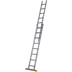 Youngman Box Section Extension Ladder 2 Section 2.5m