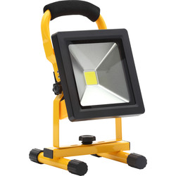 Zinc Zinc Rechargeable Work Light IP65 20W 1400lm - 64346 - from Toolstation