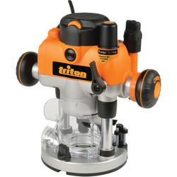 Triton Triton MOF001 1400W Dual Mode Precision Plunge Router 240V - 64363 - from Toolstation