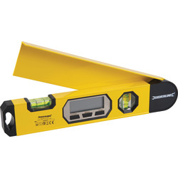 Silverline Digital Angle Level  - 64671 - from Toolstation