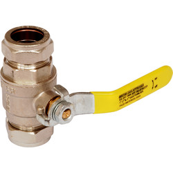 Gas & Water Lever Ball Valve PN25 15mm - 64716 - from Toolstation