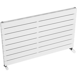 Ximax Ximax Oxford Slim Duo Horizontal Designer Radiator 595 x 1000mm 3175Btu White - 64738 - from Toolstation
