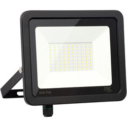 Zinc Slimline LED Floodlight IP65 50W 4000lm