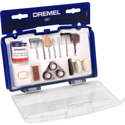 Dremel Dremel Multipurpose Accessory Set 687 - 64792 - from Toolstation