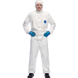 Dupont Dupont Tyvek Classic Hooded Coverall Medium - 64836 - from Toolstation