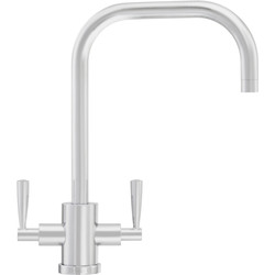 Franke Franke Olympus U Spout Mono Mixer Kitchen Tap Silk Steel - 64846 - from Toolstation