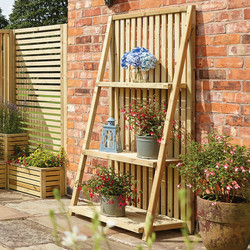 Rowlinson Rowlinson Garden Creations Plant Stand 180cm (h) x 90cm (w) x 50cm (d) - 64949 - from Toolstation