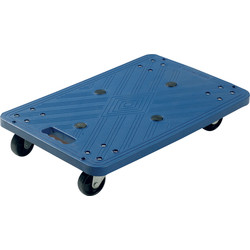 Barton Blue Plastic Dolly 100Kg - 64959 - from Toolstation