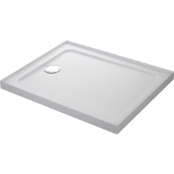 Mira Flight Safe Rectangular Shower Tray 1000 x 800mm 4 Upstands
