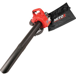 Mitox Mitox 28BV-SP 25.4cc Petrol Blower/Vac 2 Stroke - 65051 - from Toolstation