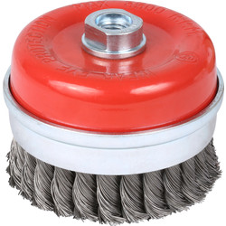 Abracs Abracs Wire Twist Knot Cup Brush 100mm - 65197 - from Toolstation