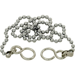 "Ball Chain 18"" Chromed - 65211 - from Toolstation"