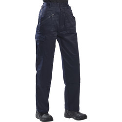 Womens Action Trousers Medium Navy