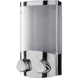 Croydex Croydex Euro Duo Soap Dispenser Chrome - 65268 - from Toolstation